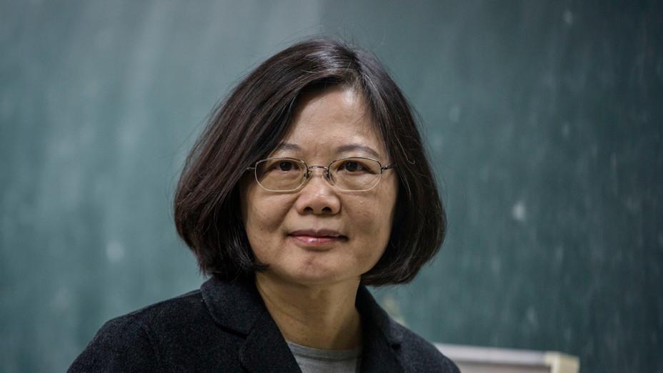 Tsai Ing-wen - Getty - H 2018