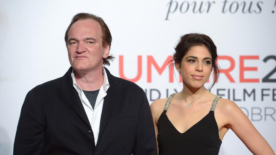 Quentin Tarantino and Daniella Pick - Getty - H 2018