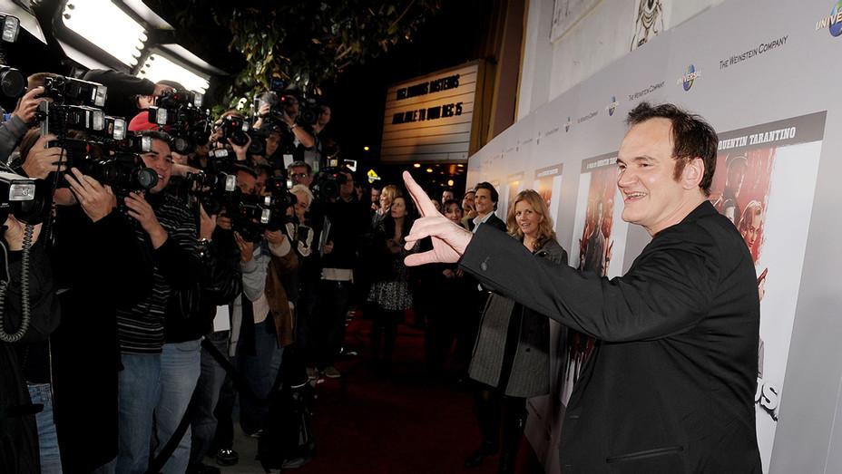 Director Quentin Tarantino New Beverly Cinema Theater - Getty - H 2018