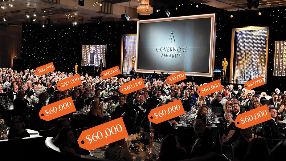 Governors Awards Attendees Grumble Over Paying $60K Per Table -ONE TIME USE ONLY-Getty-H 2018
