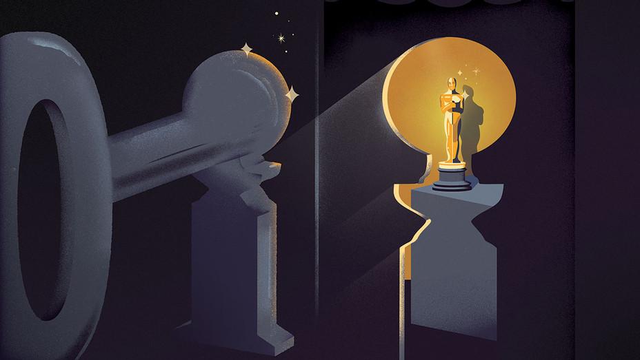 How the Globes Became  an Oscar Gatekeeper - Illustration by Francisco Martins - H 2018