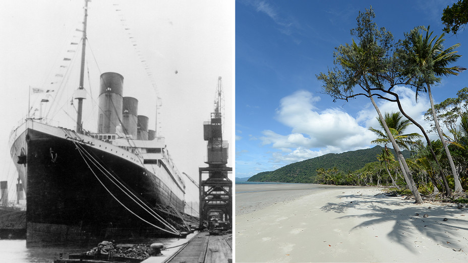 Titanic Tropical Beach Generic - Photofest - H 2018