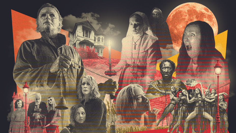 Horror Movies color  — Illustration — H 2018