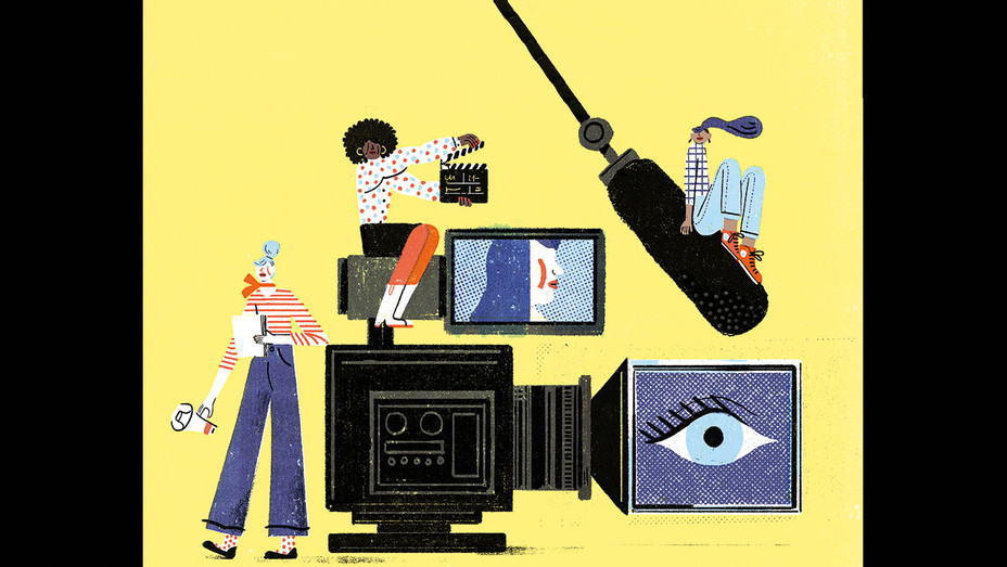 Karyn Kusama on What It Means for Women - Illustration By Irene Rinaldi-H 2018