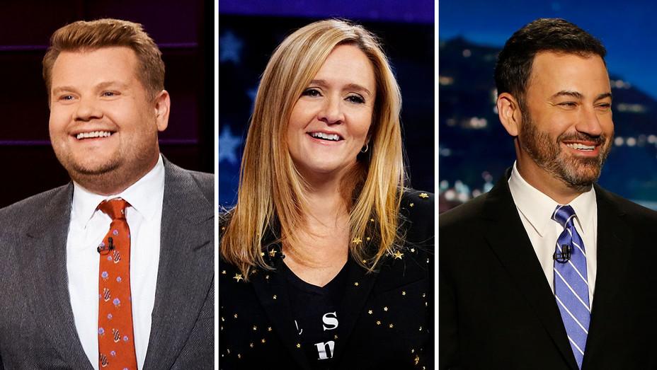 James Corden, Samantha Bee and Jimmy Kimmel - Split- Publicity-H 2018