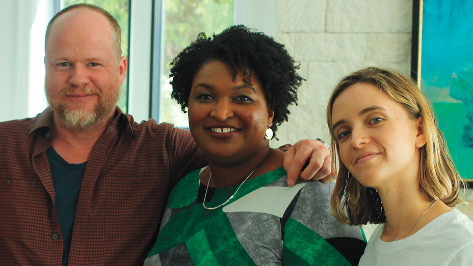 Joss Whedon, Stacey Abrams and Sarah Ullman - Publicity - H 2018