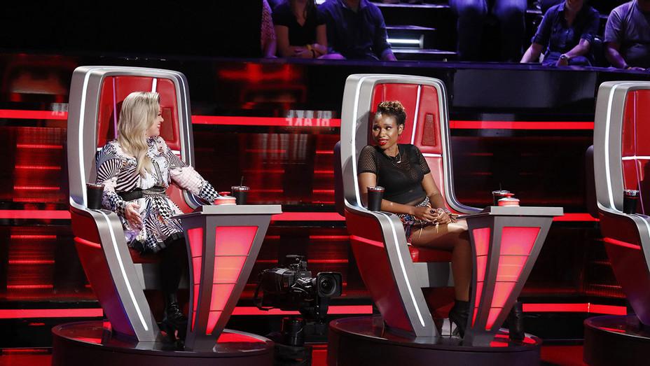 The Voice-Kelly Clarkson- Jennifer Hudson-Publicity Still-H 2018