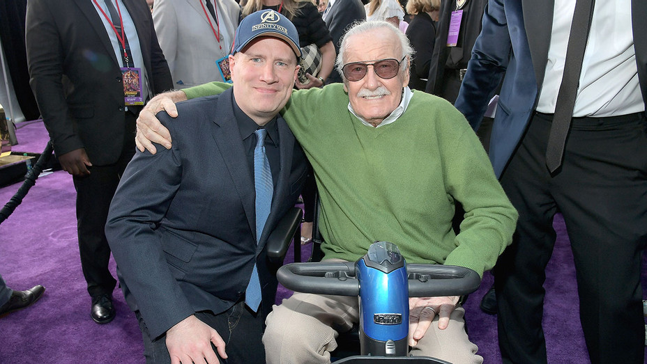 Kevin Feige-Stan Lee-Getty-H 2018