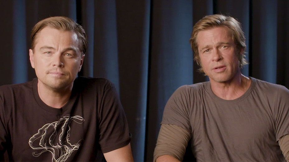 Leonardo DiCaprio and Brad Pitt on What's at Stake 2018 Midterms - Screengrab - H 2018