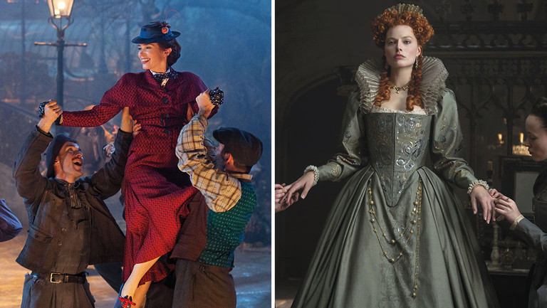"From 'Mary Poppins' to 'Mary Queen of Scots': Costume Designers on ""Juicy"" Conversations With Stars and $21 Outfits"