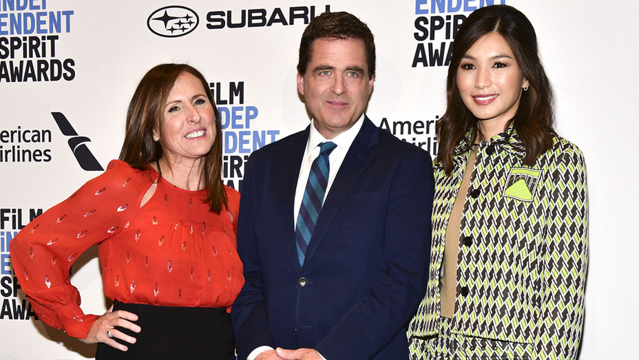 Molly Shannon-Josh Welsh-Gemma Chan-Spirit Awards-Getty-H 2018