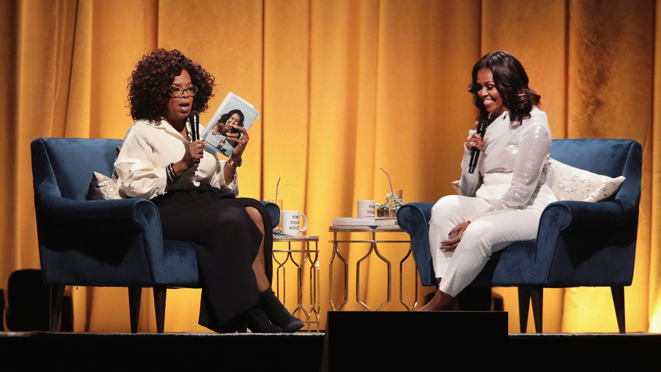 Oprah Interviews Michelle Obama in Chicago - H Getty 2018