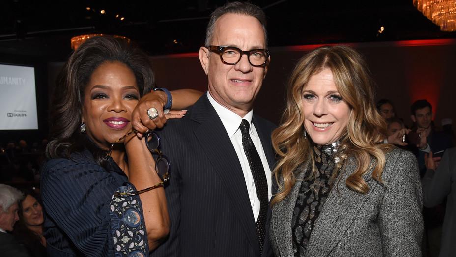 Oprah Tom Hanks Rita Wilson - Publicity - H 2018