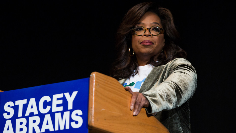 Oprah Winfrey - Campaigning for Georgia Gubernatorial Candidate Stacey Abrams - Getty - H 2018