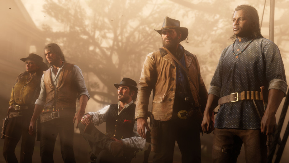 Red Dead Redemption 2 Exclusive Gang Shot - Publicity - H 2018