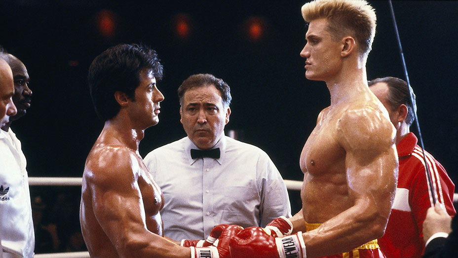 Rocky IV (1985) - Sylvester Stallone - Dolph Lundgren  - Photofest-EMBED 2018