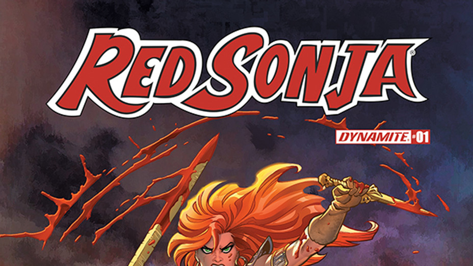 Red Sonja Cover - Publicity - P 2018