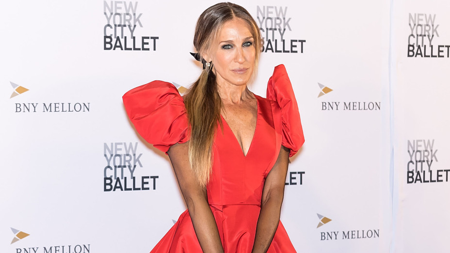 Sarah Jessica Parker attends the 2018 New York City Ballet Fall Fashion Gala - Getty - H 2018