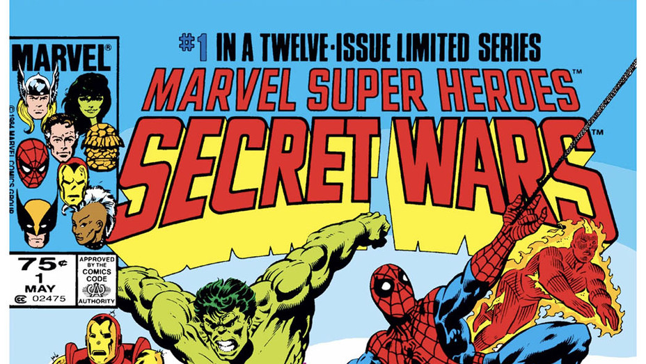 Secret Wars Cover - Publicity - P 2018