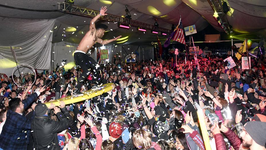 SuperDuperKyle at 2015 Snowglobe Music Festival - H Getty 2018