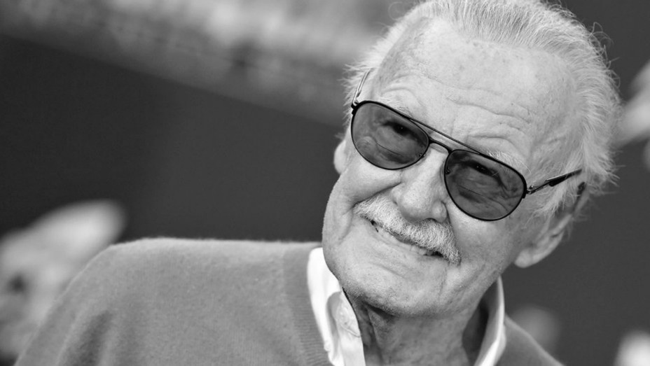 Stan Lee - Black and White - H - 2018