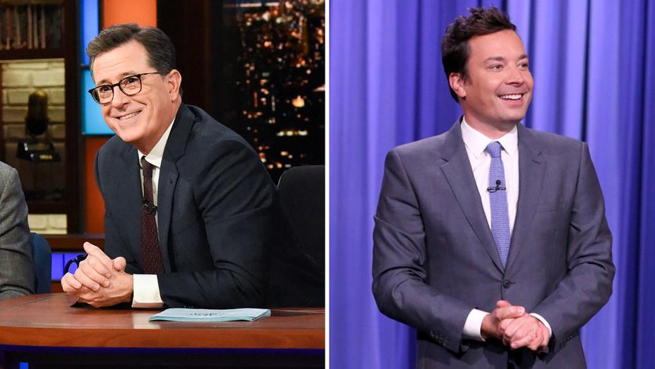 Stephen Colbert-Jimmy Fallon-Publicity-H 2018