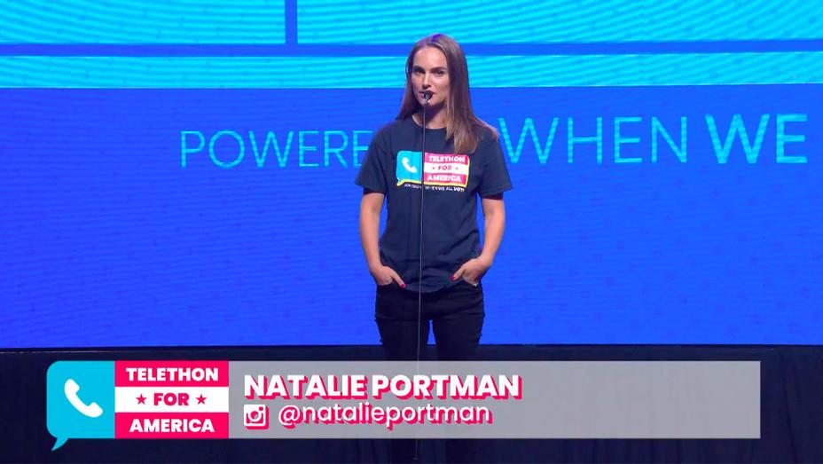 Telethon for America_Natalie Portman - Screengrab - H 2018