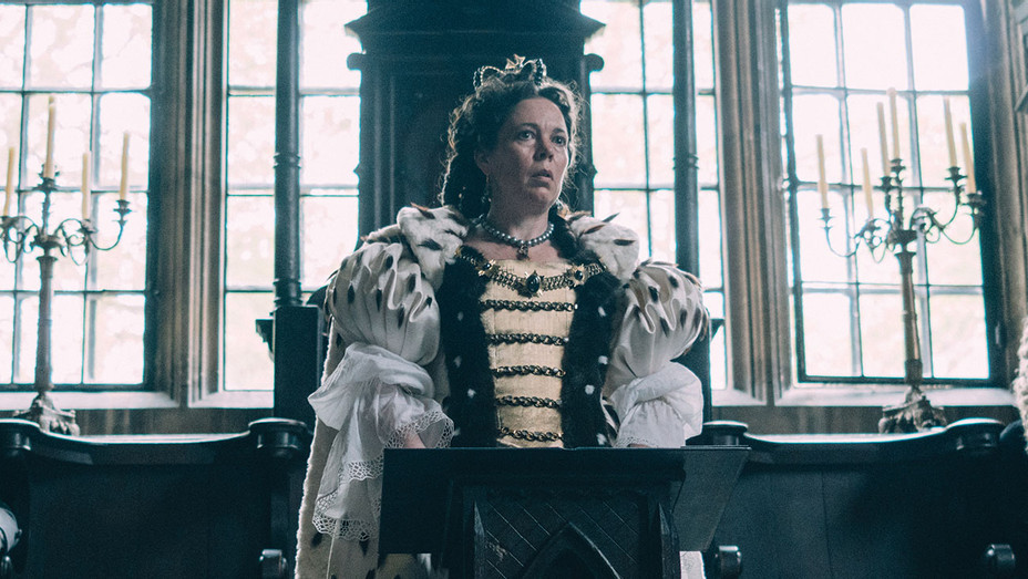 THE FAVOURITE Still olivia colman - Publicity - H 2018