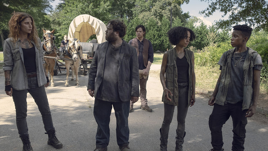 The Walking Dead - Season 9, Episode 6 -Josh McDermitt -Nadia Hilker -Dan Folger -Lauren Ridloff  -Angel Theory - Publicity-H 2018