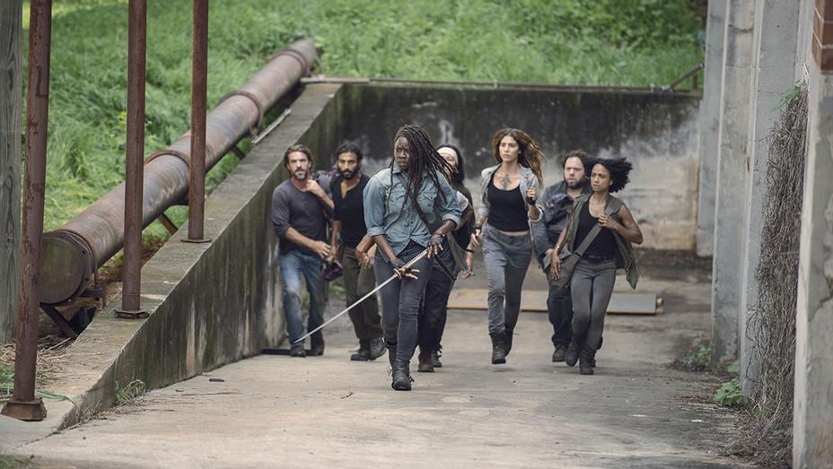 The Walking Dead Season 9, Episode 7 -Danai Gurira 2- Publicity- H 2018