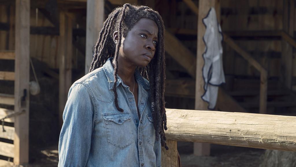 Burning Series Walking Dead 7