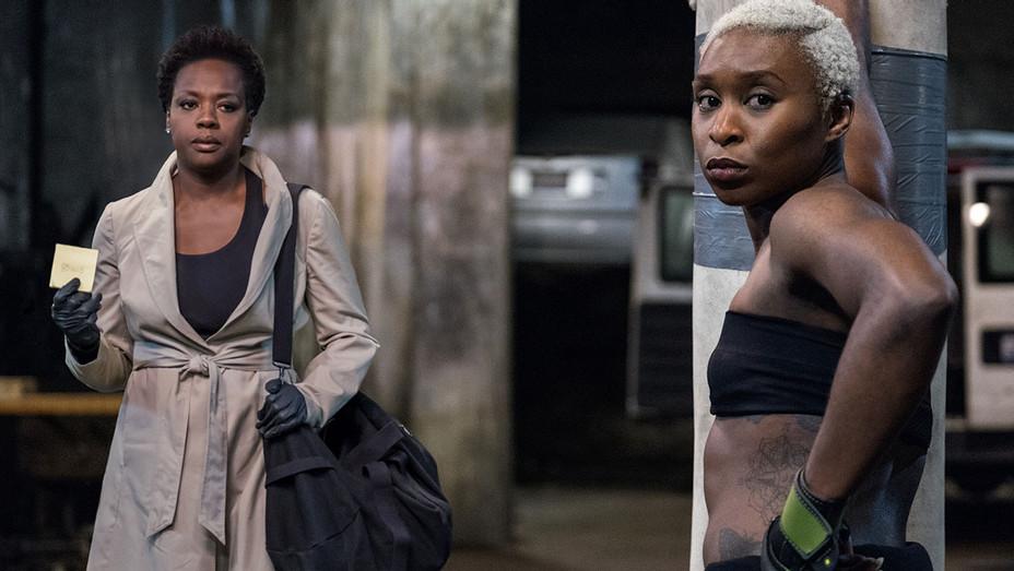 Widows Still 3 - Viola Davis and Cynthia Erivo  - Publicity-H 2018