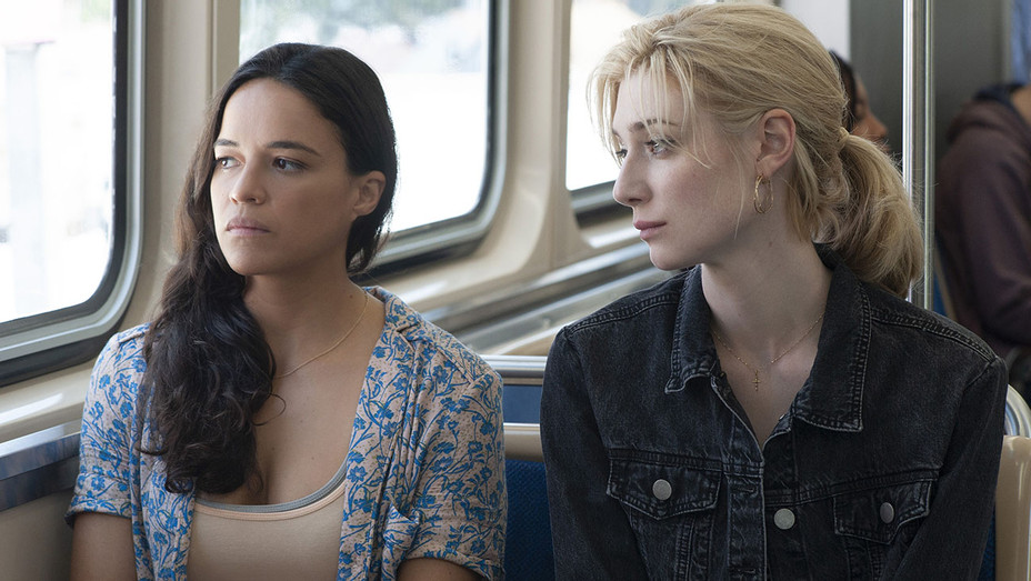 Widows Still 4 - Michelle Rodriguez and Elizabeth Debicki   - Publicity-H 2018