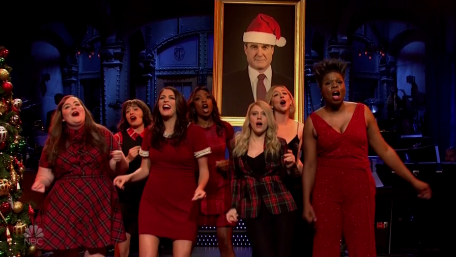 'SNL' Christmas Song Mueller - Screenshot - H 2018