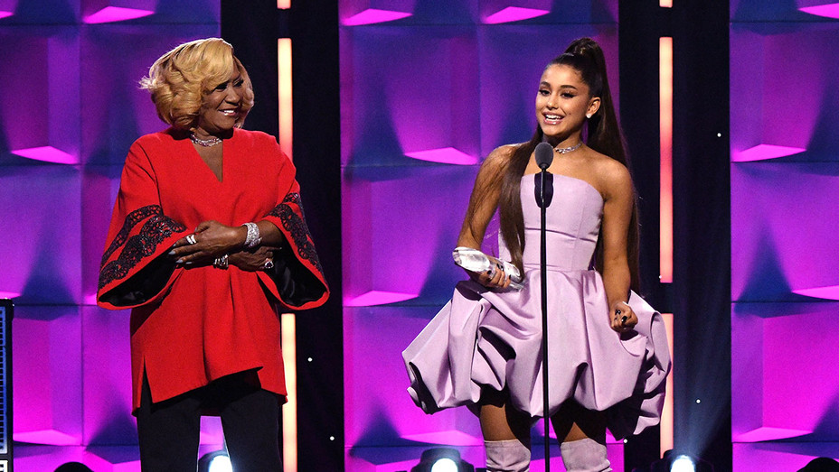 Ariana Grande_Patti LaBelle - Getty - H 2018