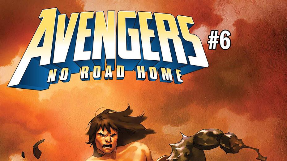 Avengers No Road Home Conan Cover - Publicity - P 2018