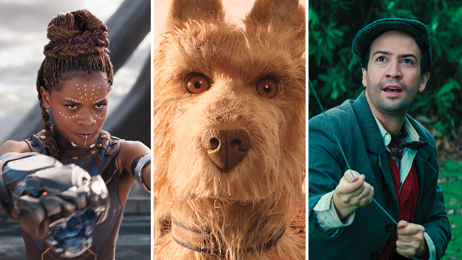 Black Panther_Isle of Dogs_Mary Poppins_Split - Publicity - H 2018