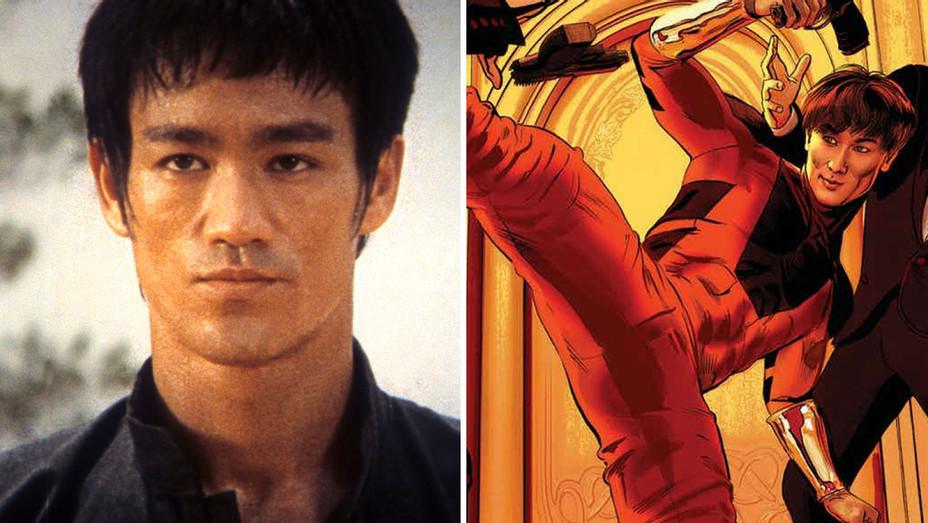 Bruce Lee and Shang-Chi Marvel Split-H 2018