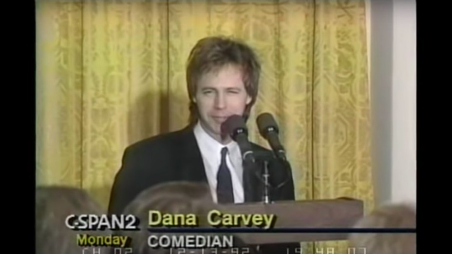 Dana Carvey White House video - Publicity - H 2018