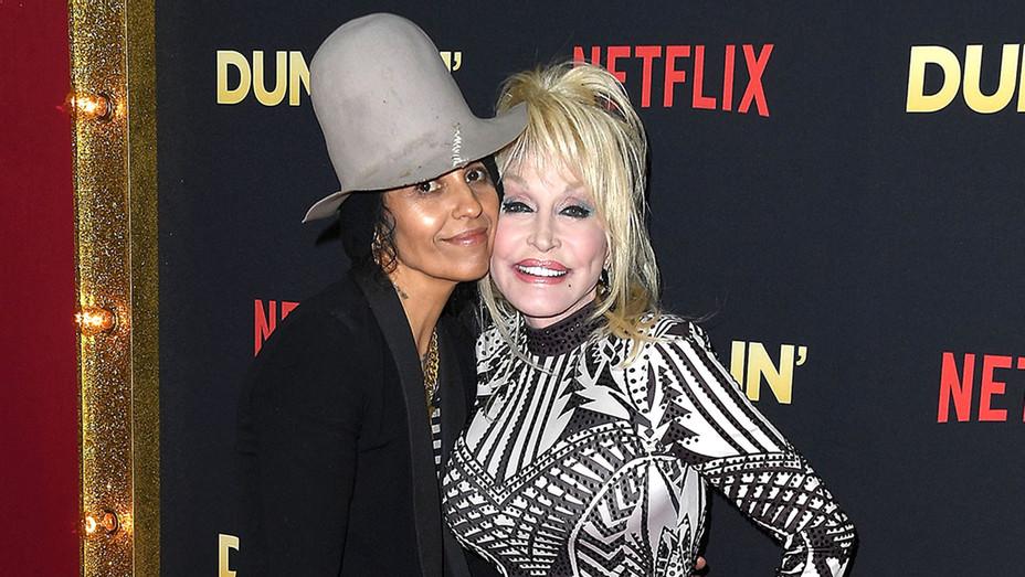 Dumplin Premiere-Dolly Parton -Linda Perry-Getty-H 2018