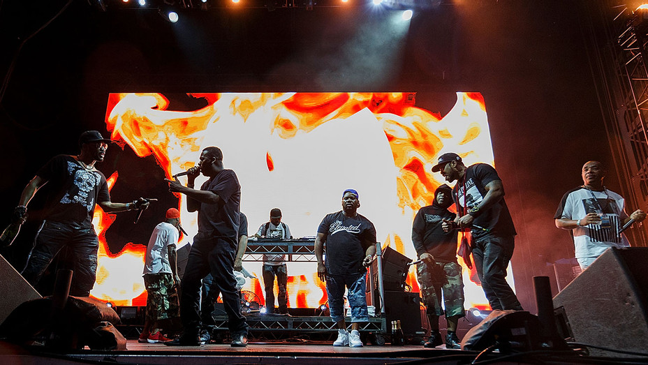 Wu-Tang Clan perform on stage during day 2 of Center Of Gravity 2018 - Getty-H 2018