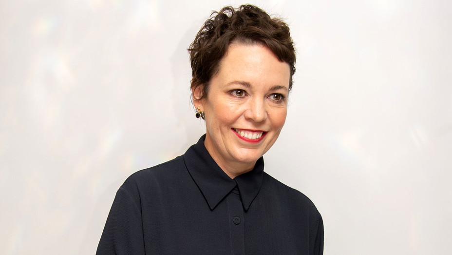"""Olivia Colman at the """"The Favourite"""" Press Conference  - Getty-H 2018"""