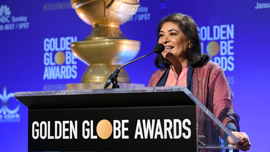 Golden Globes - HFPA President Meher Tatna - Getty-H 2018