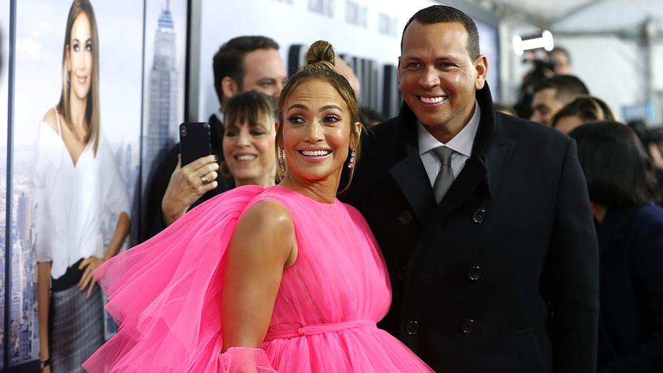 "Jennifer Lopez and Alex Rodriguez attend  ""Second Act"" World Premiere  - Getty-H 2018"