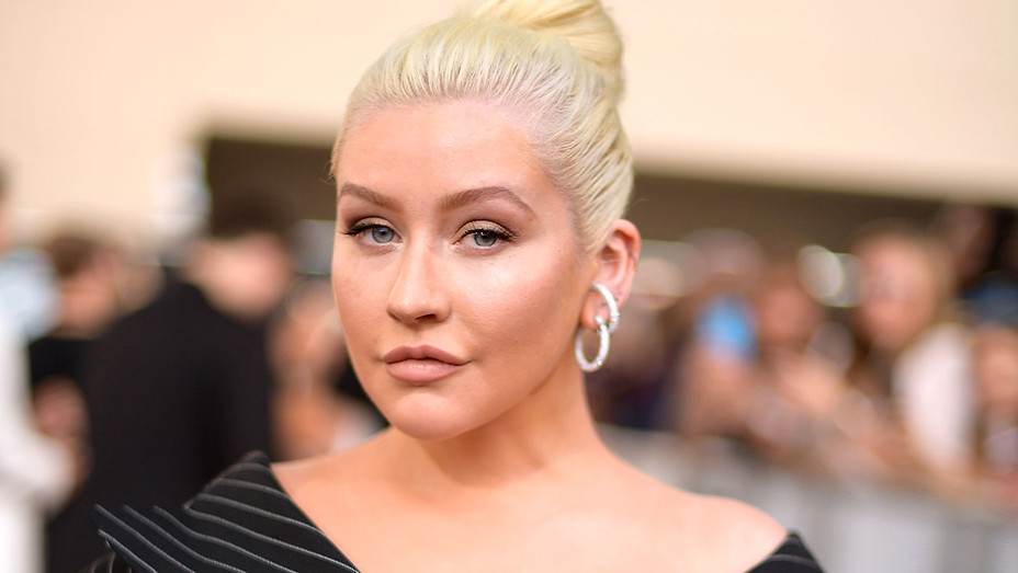 Christina Aguilera attends the 2018 Billboard Music Awards - Getty-H 2018