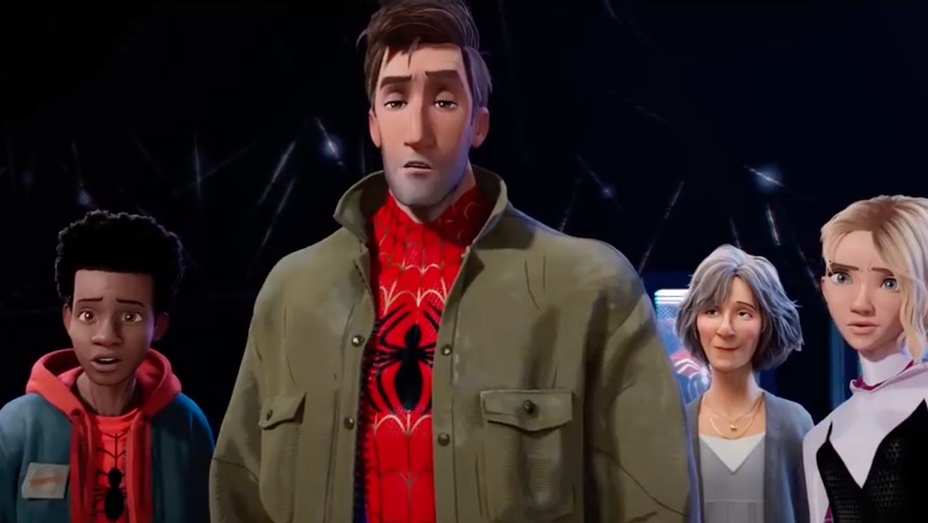 Spider-Man Into the Spider-Verse Exclusive Movie Clip Other Spider People - H 2018