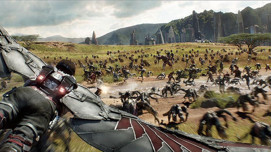 Screen - Marvel's Avengers: Infinity War - Film Frame Marvel Studios- Publicity- EMBED 2018