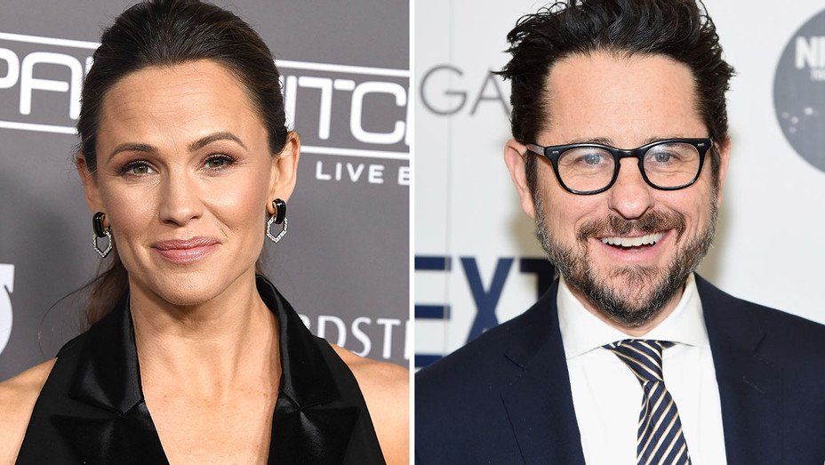 Jennifer Garner and JJ Abrams- Split-Getty-H 2018