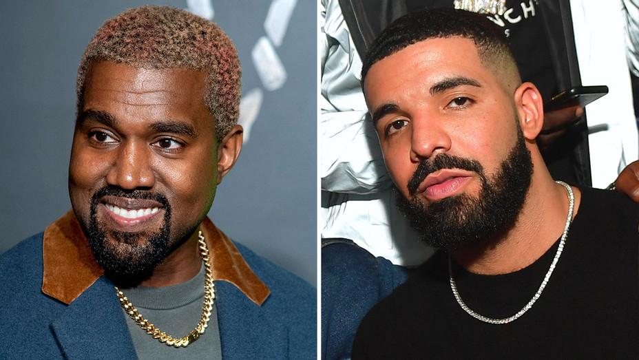 Kanye West-Drake-Getty-Split-H 2018