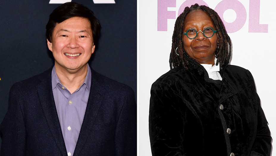 Ken Jeong Whoopi Goldberg - Getty - H Split 2018